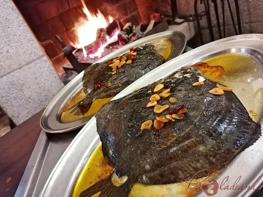 Restaurante Tejas Verdes - Rodaballo al horno