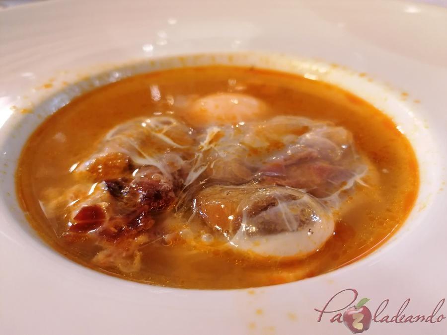 Restaurante Tejas Verdes - Sopas de ajo