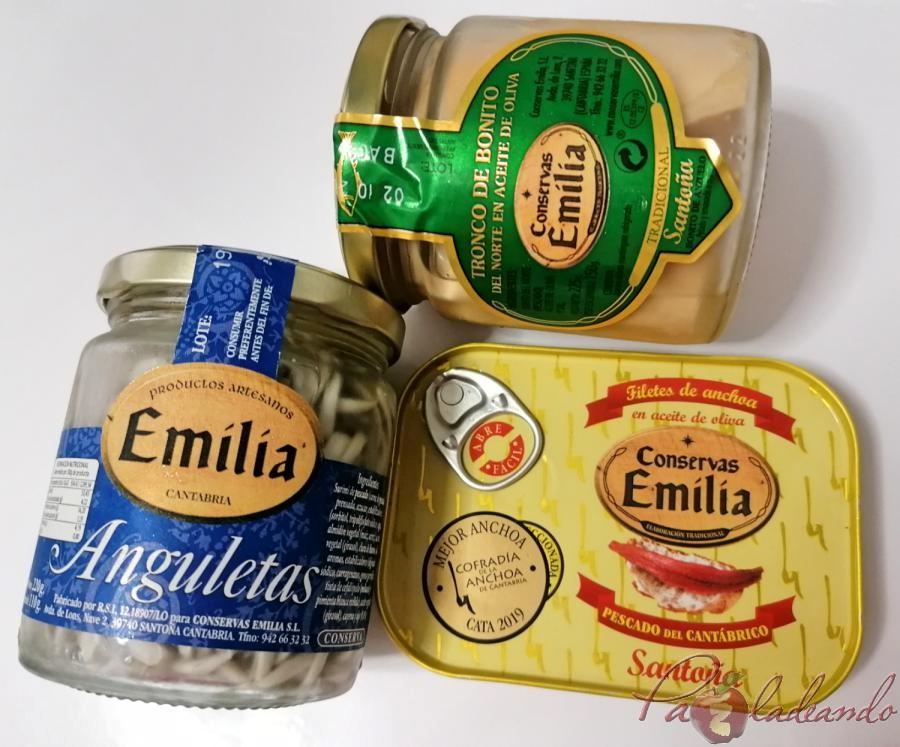 Lote Conservas Emilia