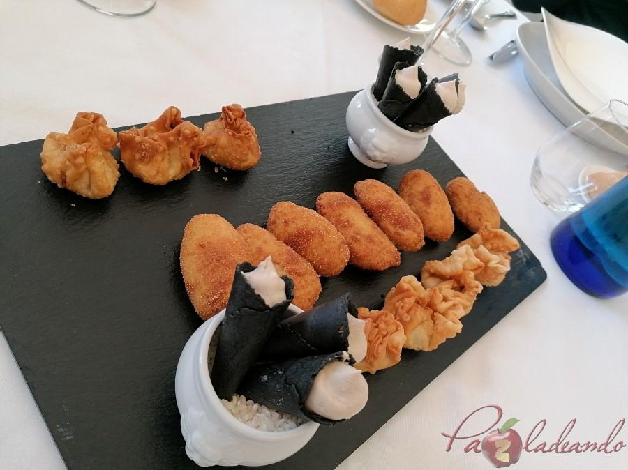 aperitivos Restaurante San Francisco (El Pardo) y su extraordinario cocido madrileño de los viernes (1)