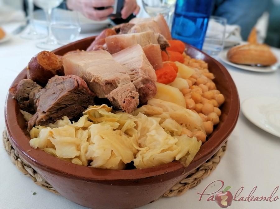 cocido Restaurante San Francisco (El Pardo) y su extraordinario cocido madrileño de los viernes (1)