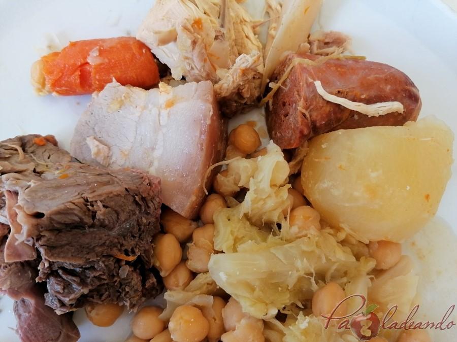 cocido Restaurante San Francisco (El Pardo) y su extraordinario cocido madrileño de los viernes