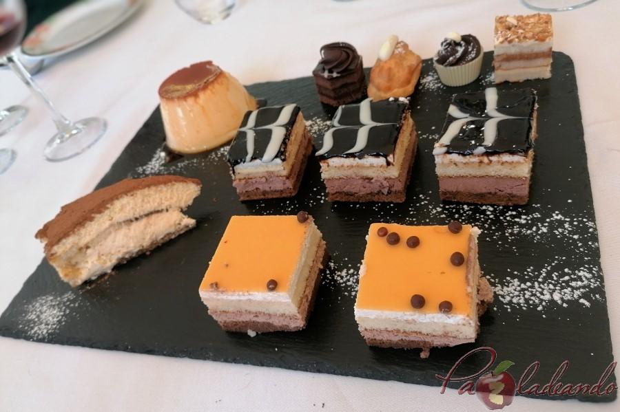 postres Restaurante San Francisco (El Pardo) y su extraordinario cocido madrileño de los viernes