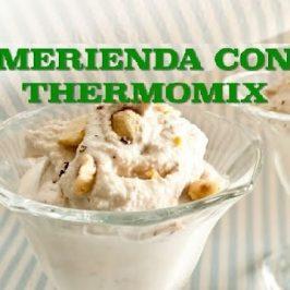 merienda con thermomix