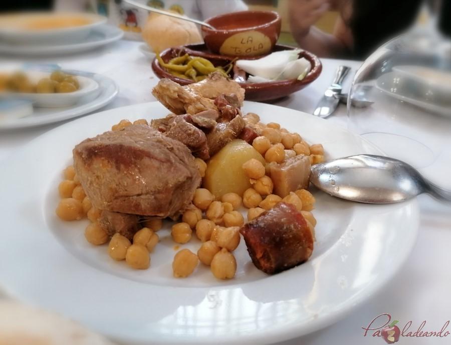 2. Cocido Taberna LA BOLA - PaZladeando (1)