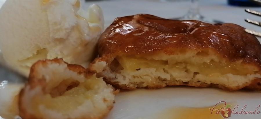 3. Buñuelo de manzana Taberna LA BOLA - PaZladeando (2)